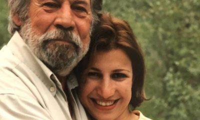 تصویر بیحجاب لیلی رشیدی در آغوش پدر