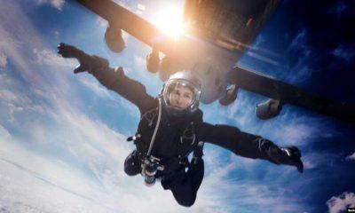 پرش تام کروز در پشت صحنه فیلم ماموریت غیرممکن