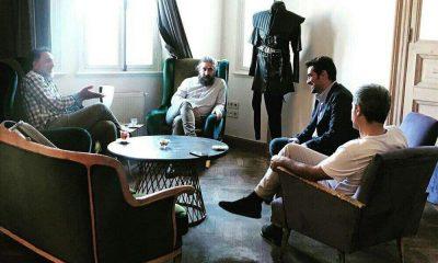 اولین عکس شهاب حسینی و حسن فتحی پشت صحنه «مست عشق»